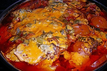 Tomaten-Hähnchen-Pfanne 1