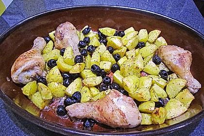 Kartoffeln aus dem Ofen (Bild)