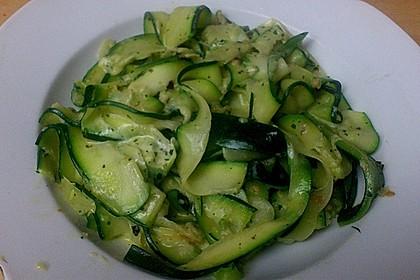"""Zucchini-Nudeln """"aglio e olio"""" 20"""