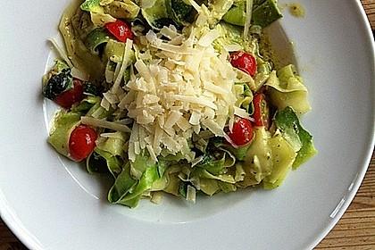 """Zucchini-Nudeln """"aglio e olio"""" 1"""