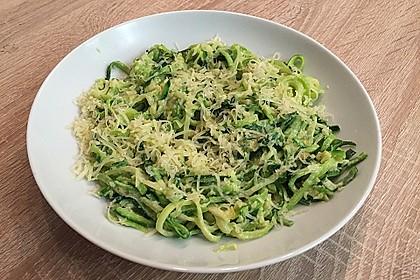 """Zucchini-Nudeln """"aglio e olio"""" 21"""
