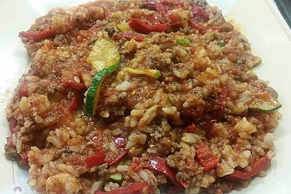 Reis-Hackfleisch-Pfanne mit Paprika 26