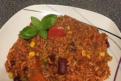 Reis-Hackfleisch-Pfanne mit Paprika 3