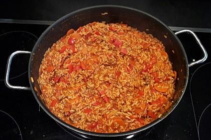 Reis-Hackfleisch-Pfanne mit Paprika 6