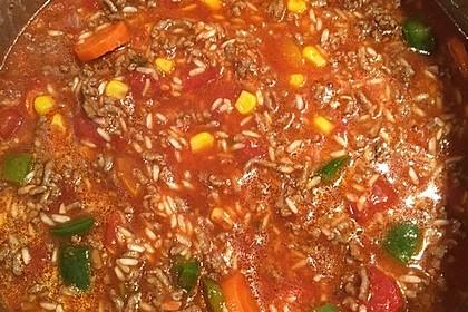 Reis-Hackfleisch-Pfanne mit Paprika 19