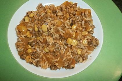 Reis-Hackfleisch-Pfanne mit Paprika 20