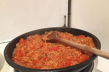 Reis-Hackfleisch-Pfanne mit Paprika 28