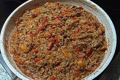 Reis-Hackfleisch-Pfanne mit Paprika 30