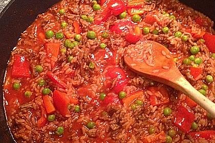 Reis-Hackfleisch-Pfanne mit Paprika 24
