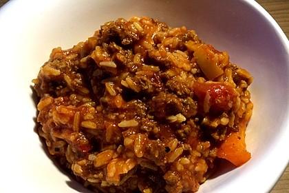 Reis-Hackfleisch-Pfanne mit Paprika 25