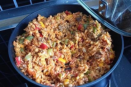 Reis-Hackfleisch-Pfanne mit Paprika 15