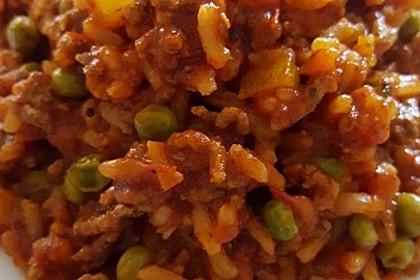Reis-Hackfleisch-Pfanne mit Paprika 23
