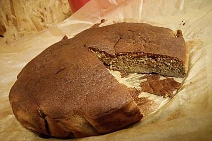 Low-Carb Haselnuss-Schokoladenkuchen mit Zucchini 6