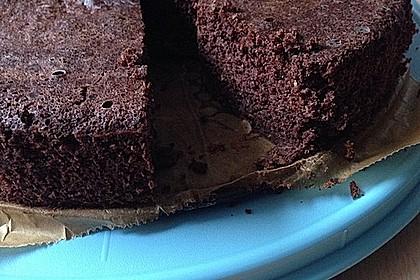 Low-Carb Haselnuss-Schokoladenkuchen mit Zucchini 3