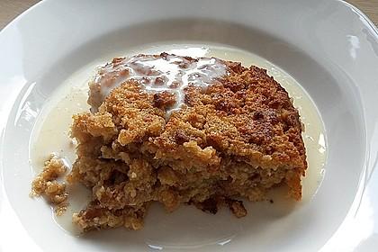 Amerikanischer Butterscotch Brotpudding 1