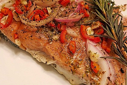 Feuriger Fisch aus dem Backofen 1