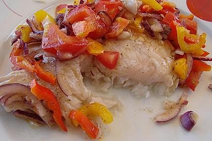 Feuriger Fisch aus dem Backofen 6
