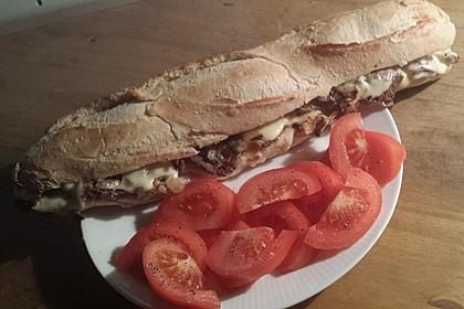 Philly Cheesesteak Sandwich 2