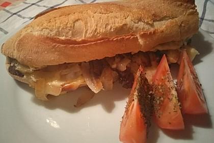 Philly Cheesesteak Sandwich 3