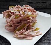 Wurstsalat, süß und pikant (Bild)