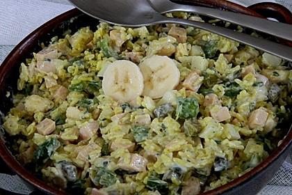 Bunter Curry-Reis-Salat 1