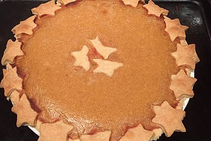 Amerikanischer authentischer Pumpkin-Pie 13