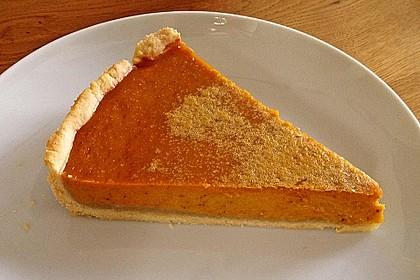 Amerikanischer authentischer Pumpkin-Pie 1