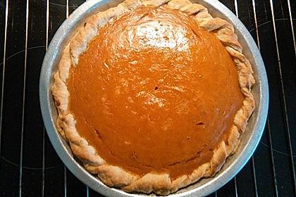 Amerikanischer authentischer Pumpkin-Pie 5