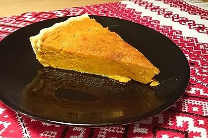 Amerikanischer authentischer Pumpkin-Pie 7