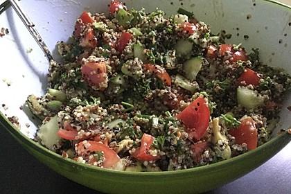 Quinoa Powersalat mit Tomaten und Avocado 29