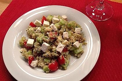 Quinoa Powersalat mit Tomaten und Avocado 19