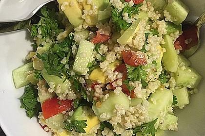 Quinoa Powersalat mit Tomaten und Avocado 24