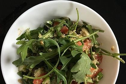 Quinoa Powersalat mit Tomaten und Avocado 45
