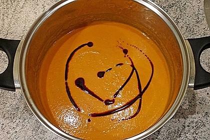 Karotten-Kürbissuppe 1