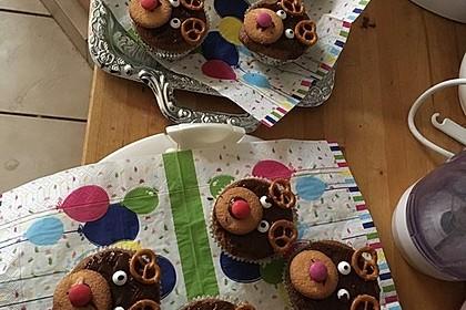 Rudolph Muffins 12