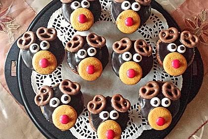Rudolph Muffins 14