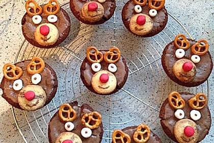Rudolph Muffins 26