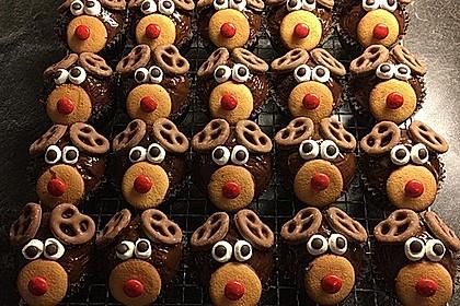 Rudolph Muffins 5