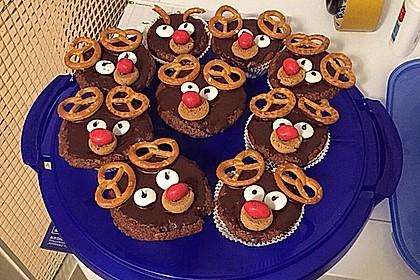 Rudolph Muffins 36