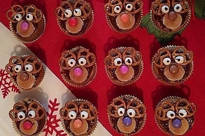 Rudolph Muffins 25