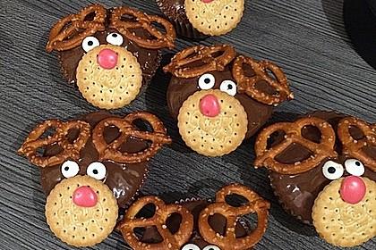 Rudolph Muffins 21