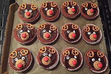 Rudolph Muffins 27