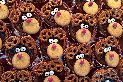 Rudolph Muffins 9