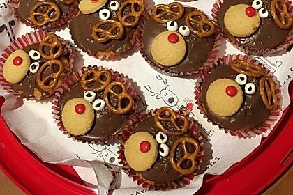 Rudolph Muffins 30