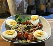 Avocado-Thunfisch Salat (Bild)
