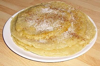 Pfannkuchen ohne Ei und Milch 2