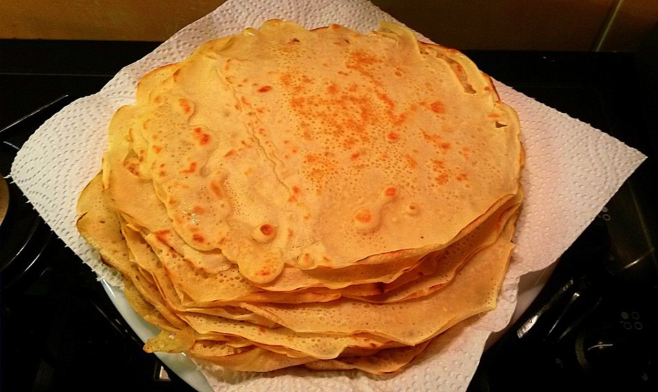 Crepes teig ohne milch