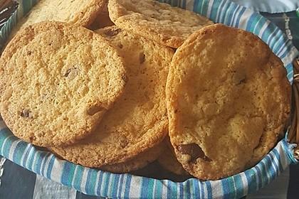 Englische Double-Chocolate-Chip-Cookies