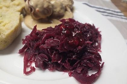 Preiselbeer-Blaukraut-Rotkohl II 5