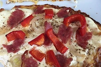 Low-Carb Flammkuchen vegetarisch 14